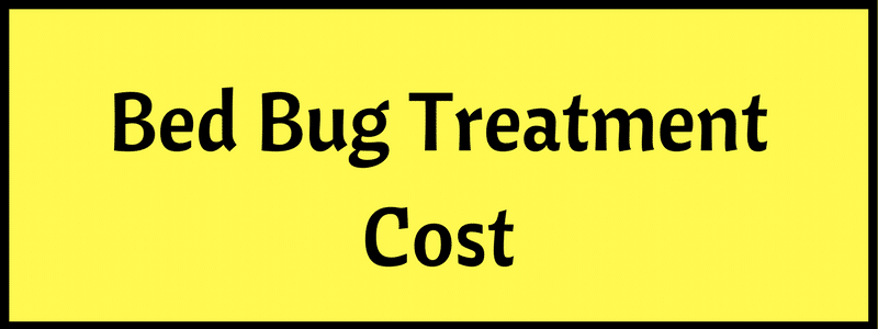 Charming Bed Bug Treatment Cost